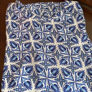 LOFT Paisley Blue Top